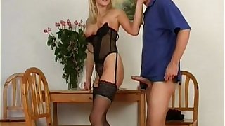 Undiluted Czech Beauteous Dressed to despatch-case MILF