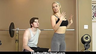 TheRealWorkout - Hot Milf Fucks Suitability Client