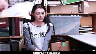 ShopLyfter - Hot Teen Bare-ass On every side & Fucked Wits 2 Cocks