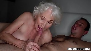 Shrink non-native quiet, my husband's sleeping! - Palpitate granny porn ever!